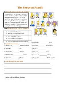 pin vocabulary worksheet on tree family