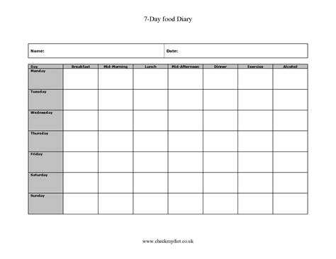 7 best images of free printable exercise sheets free