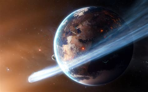 cosmos sci fi earth atmosphere moon plantets star sunlight cosmos space sci fi planets earth comet asteroid stars