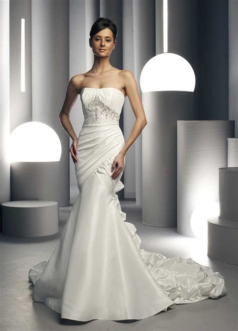 white wedding dresses cherry marry