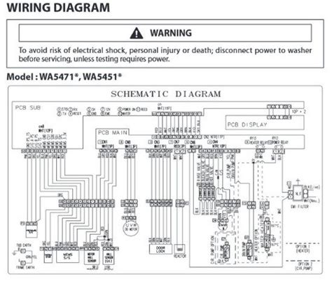 samsung washer schematic diagram get free image about