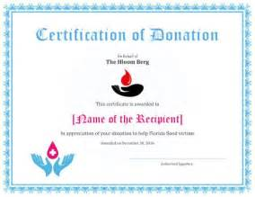Certificate Giving Letter Invitation Card Sle For Blood Donation C Infoinvitation Co