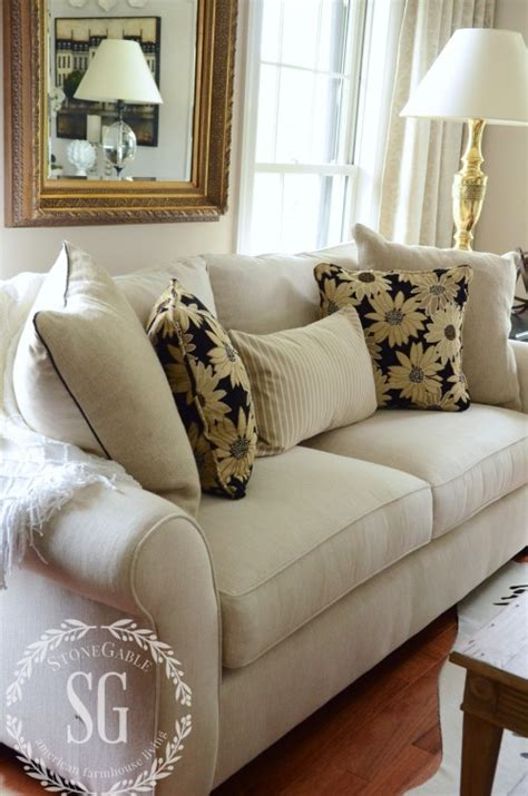 pillow arrangements on sofa how to build a pillow collection like a pro stonegable