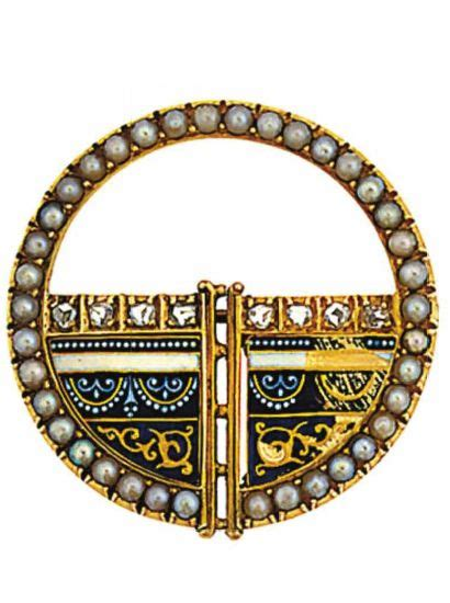 Sided Enamel And Pearl On Golden Stick Import 297 best images about jewels of carlo and arthur giuliano