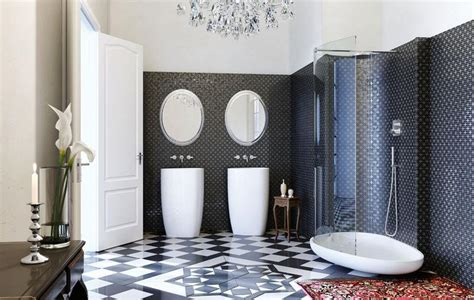 Art Deco Home Interiors by Art Deco Bathrooms In 23 Gorgeous Design Ideas Rilane