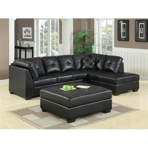 Black Sectional Sofa With Chaise Black Leather Sectional With Chaise Chaise Design