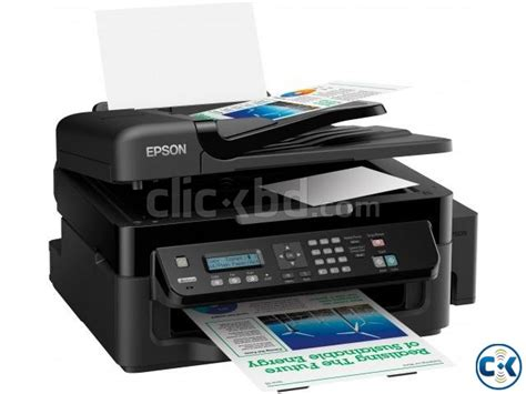 Printer Epson L550 All In One epson l550 color all in one network printer with ink tank clickbd