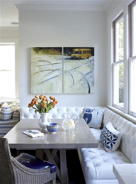 Banquette Corner Seating by Banquette Seating Frog Hill Designs