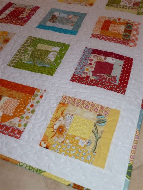 The Log Cabin Quilt by Log Cabin Quilt Scrap Quilts