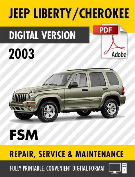 2003 Jeep Liberty Owners Manual Cars And Technology