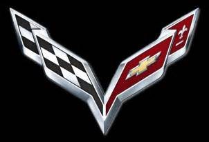 2014 chevrolet corvette c7 logo revealed debut set for