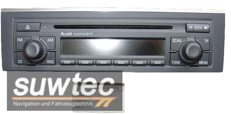 Audi Radios by Audi Radio Cd Concert 2 A4 8e Model Conzert Mit