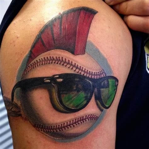 baseball tattoos designs 50 sporty baseball designs for the of the