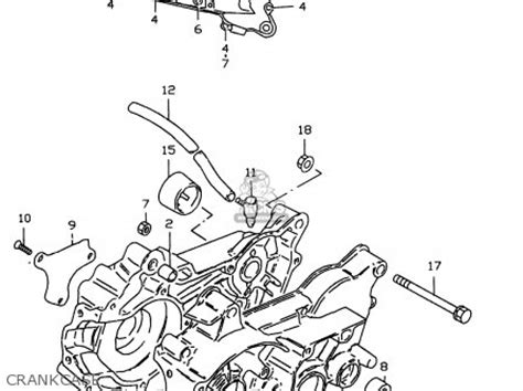 Suzuki Lt50 Service Manual Suzuki Lt50 2000 Y Parts List Partsmanual Partsfiche