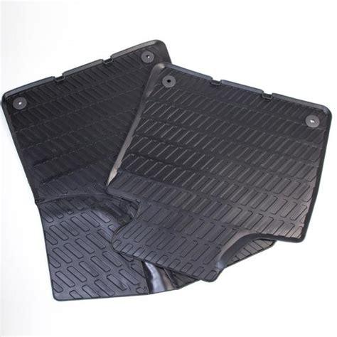 Audi A3 Rubber Floor Mats by Audi A3 8p Car Rubber Floor Mats Original Black