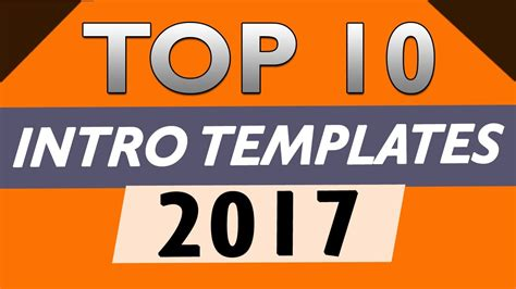 free intro templates for after effects cs6 top 10 free intro templates 2017 after effects cs6 cc no