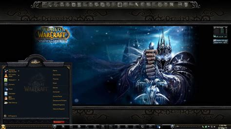 Theme Windows 7 World Of Warcraft | world of warcraft windows 7 theme youtube