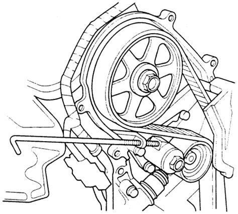 5718 Cover Timing Bawah Honda Odyssey 2 3 F23 repair guides engine mechanical components crankshaft der front cover timing belt