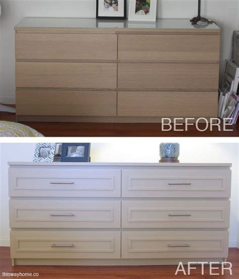 ikea kullen hack ikea malm before and after http thiswayhome co diy