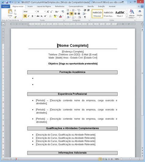 Modelo Curriculum Word 2013 Modelos De Curriculum Word Curriculum Newhairstylesformen2014