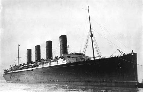 ww1 sinking of the lusitania rms lusitania vintage everyday