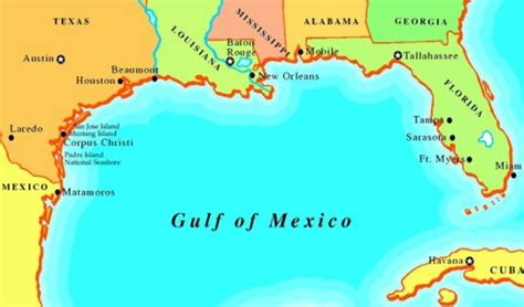 gulf map barack obama on deepening the ports on the gulf are they kidding we must do better