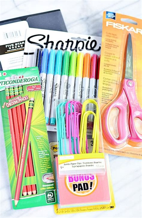Office Supplies For Teachers School Supplies On The Hunt