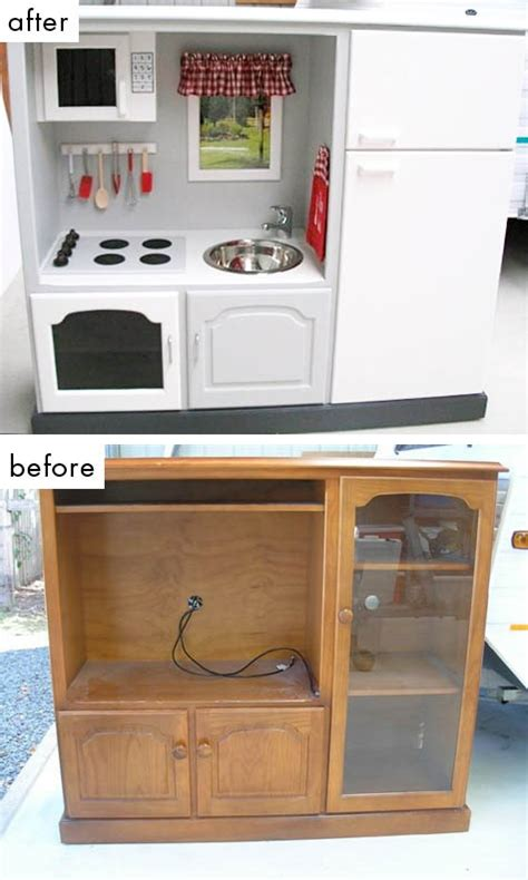 17 best ideas about old tv stands on pinterest furniture repurpose that old tv stand into a kids kitchen old tv