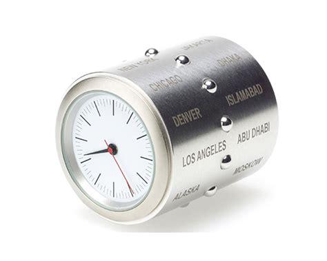 World Time Desk Clock by World Time Desk Clock By Der Waals