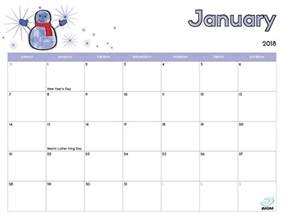 Calendar 2018 Printable Imom 2018 Free Printable Calendar For Imom