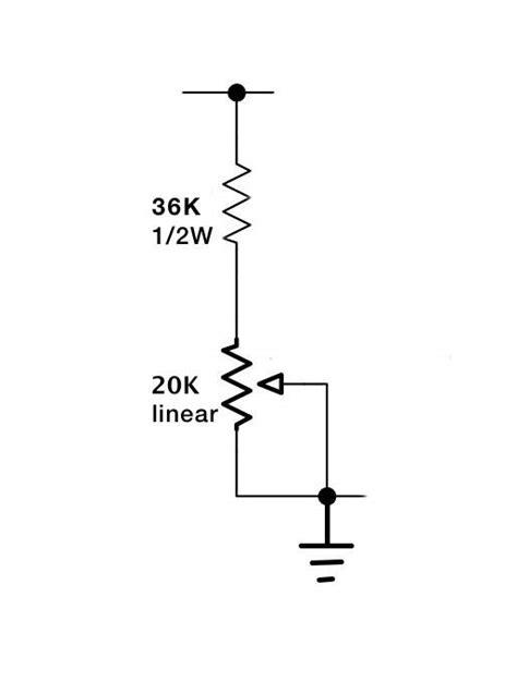 what is bias resistor 1954 fender 5d6 4x10 bassman bias questions talkbass