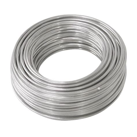 with and wire ook 50 ft aluminum hobby wire 50176 the home depot