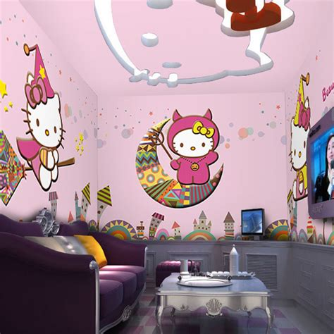 cat wallpaper room online buy wholesale kitty cat wallpaper from china kitty