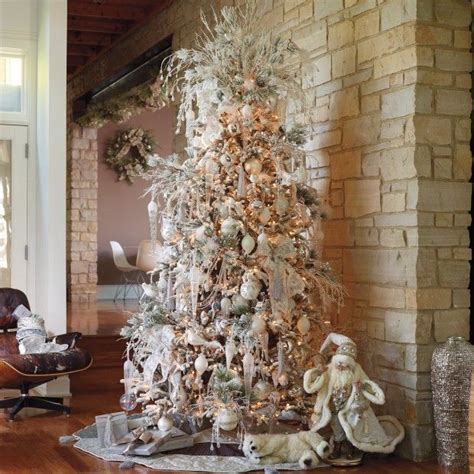 frontgate tree white christmas pinterest