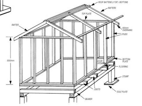 plans for a cubby house how to build a cubby house motherpedia