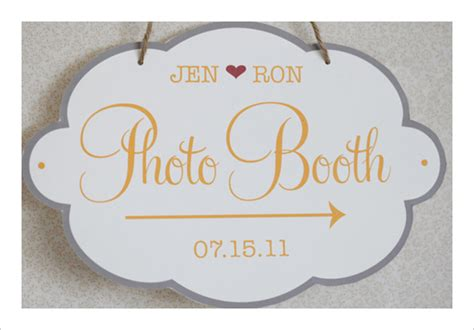 photo booth free templates 6 best images of sign printable wedding templates free