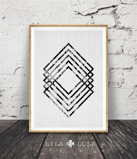 modern printable wall art modern minimal wall art black and white print abstract art