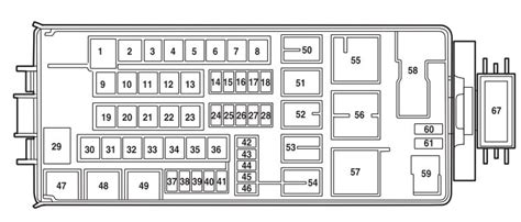 fuse box diagram 2005 ford explorer efcaviation