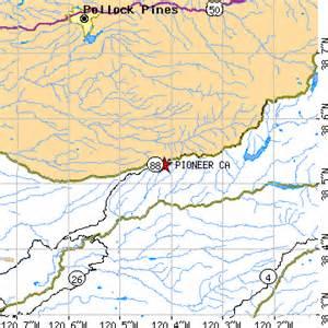 pioneer california map pioneer california ca population data races housing