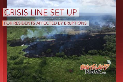 crisis update support the branch while you shop southeast nash crisis line set up for residents affected by eruptions