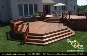 composite patio wood and composite decks trex timbertech azek deck