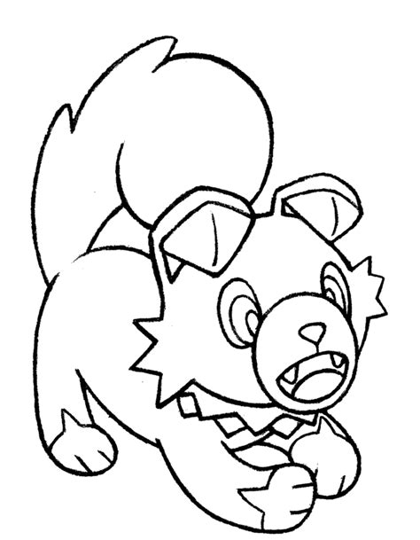 moon rock coloring page 7 rockruff by realarpmbq on deviantart