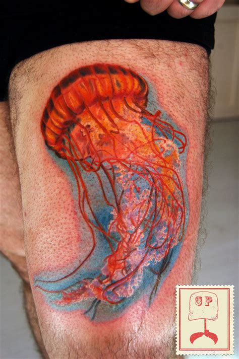 jellyfish tattoo jellyfish by emis on deviantart