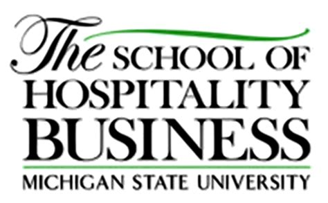 Michigan State Mba School by File Msu Hospitality Business Logo Png
