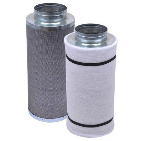 carbon filters for grow rooms 6 quot x 22 quot grow room coconut activated charcoal carbon filter air one air purification