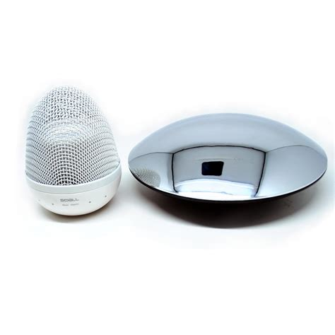 Speaker Ufo magic magnetic floating ufo bluetooth speaker silver jakartanotebook