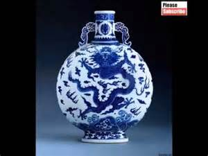 Chinese Ceramic Vase Ancient Chinese Porcelain Pottery Decorative Picture Set