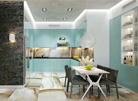 Cuisine Et Salle à Manger by Salle 224 Manger Design Dans Un Petit Appartement De Ville