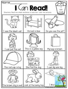 i can read simple sentences that kids can decode with