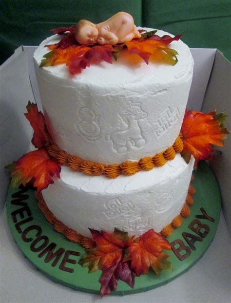 Fall Baby Shower Cake Ideas by Fall Baby Shower Cakecentral